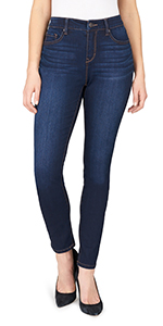curvy skinny jeans for women