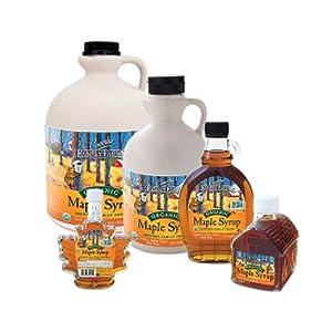 organic grade a amber rich smooth maple flavor distinctive taste unique subtle flavor table syrup