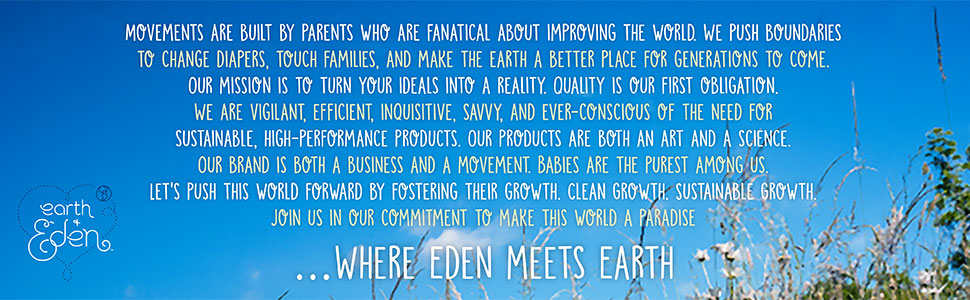 Earth & Eden, Baby Diapers
