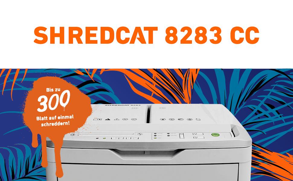 Aktenvernichter IDEAL Shredcat 8283 CC 4x10 mm Sicherheitsstufe 4