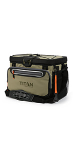 30 Can Titan Deep Freeze Zipperless Cooler
