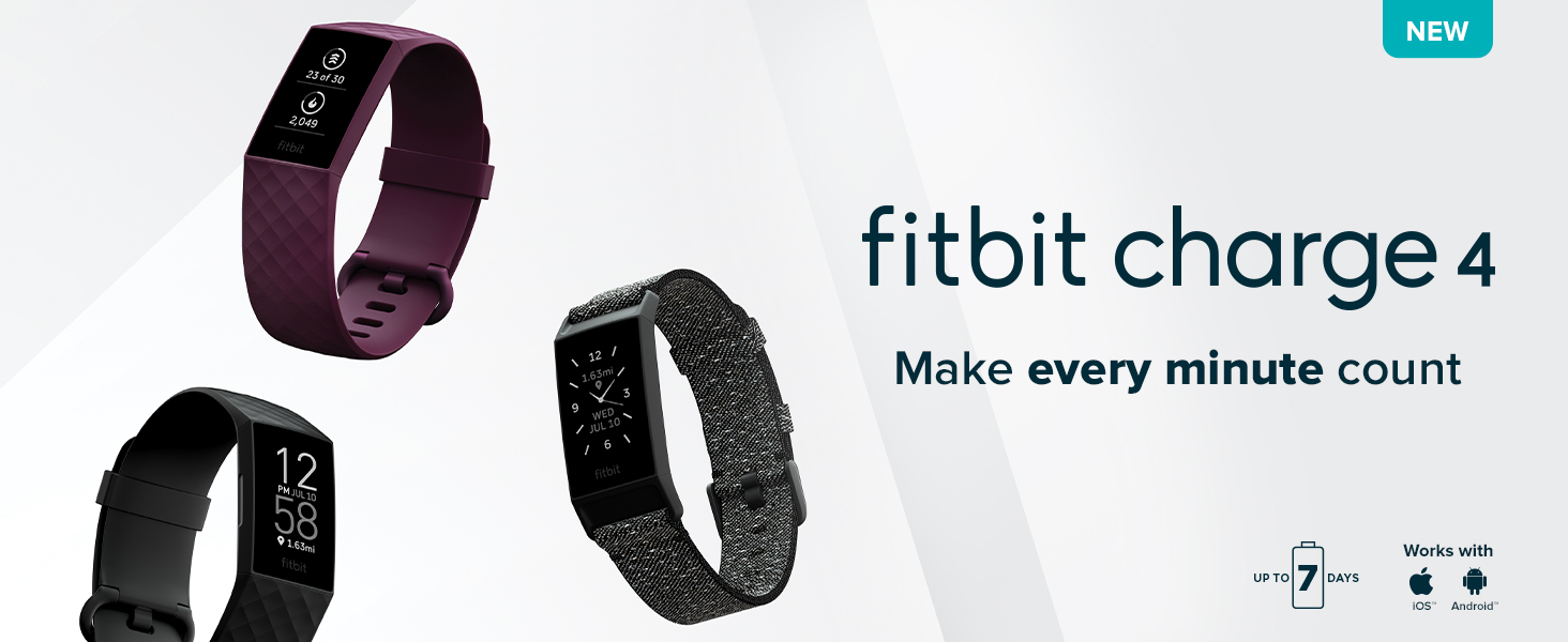 Fitbit Charge 4 - Header
