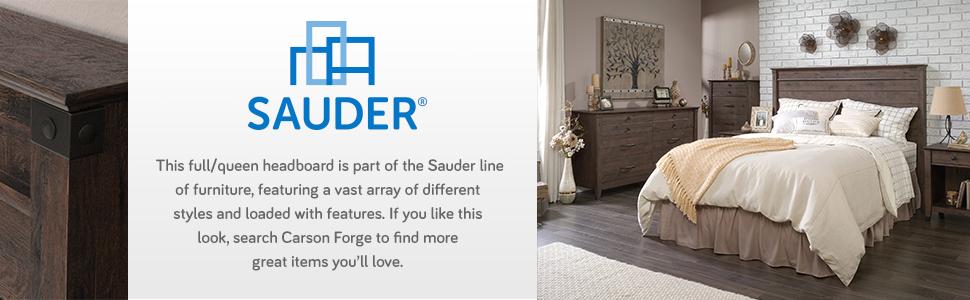 Amazon Com Sauder 419887 Carson Forge Headboard Full