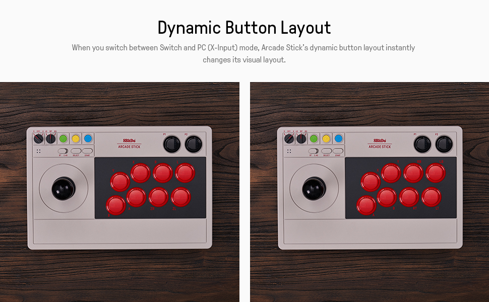 wireless bluetooth nintendo switch Arcade Stick switch Arcade Fight Stick