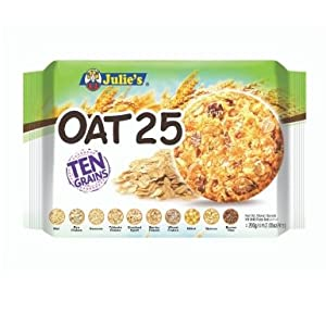 Julie's Oat 25 Ten Grains