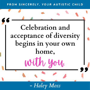 Haley Moss Quote