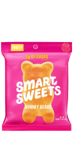 Smartsweets, gummy candy, sour candy, low sugar candy, swedish fish, gummy bears, sour patch kids