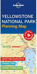 Yellowstone National Park Planning Map