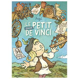 bd, bande dessinee, jeunesse, humour, leonard de vinci