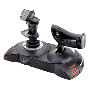 ThrustMaster - Pack Thrustmaster: T.Flight Full Kit Joystick de alta precisión T.Flight Hotas X + pedales de timón con sistema de raíles deslizantes para PC T.Flight Rudder Pedals (Windows): Amazon.es: Videojuegos