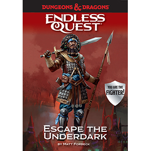 endless quest;d&d;dungeons & dragons;fantasy books for kids;fighter;escape the underdark;