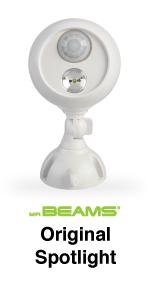 mr beams, mb360, led spotlight, motion sensing spotlight