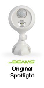 mr beams, mb360, led spotlight, motion sensing spotlight
