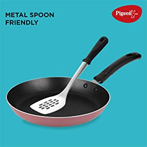 Metal spoon friendly