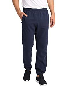 Lower East Pantalones de chándal para hombre, Negro, S: Amazon.es ...