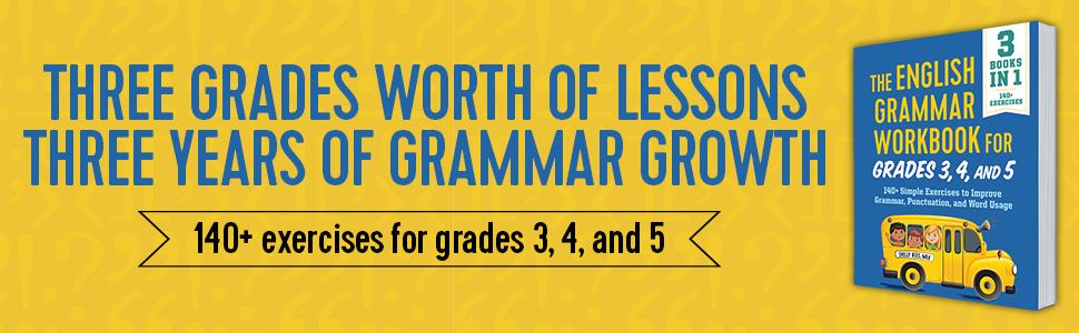 grammar workbook, english grammar, grammar, 3rd grade workbooks all subjects, basic english grammar