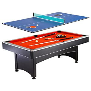 Multi Game Pool Table Tennis Combination