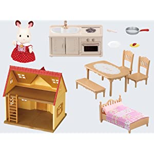 Amazon.com: Calico Critters Cozy Cottage Starter Home: Toys & Games