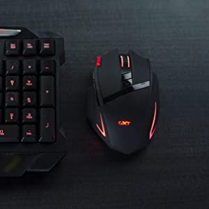 cbc4728cad4 Amazon.com: Trust Gaming GXT 130 Wireless Gaming Mouse with 9 ...