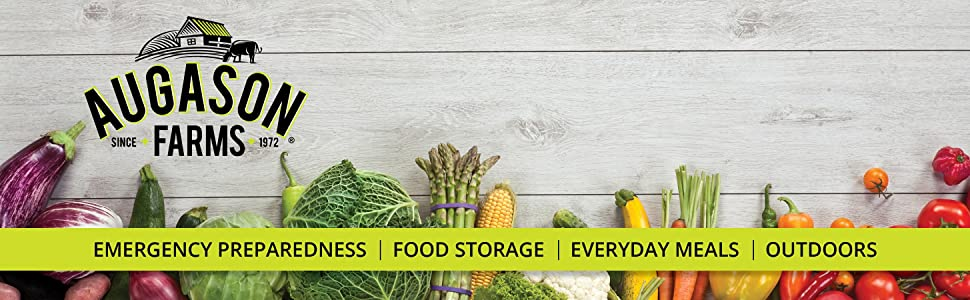 Augason Farms Emergency Preparedness Food Storage Vegetables