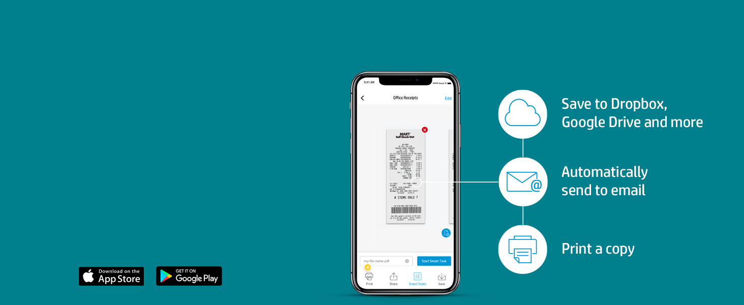 can documents receipts contract automatically upload