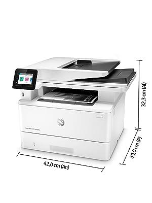 HP LaserJet Pro MFP M428fdw Impresora Láser Multifunción Monocromo (A4, hasta 38 ppm, de 750 a 4000 Páginas/ Mes, 1 USB 2.0 , 1 USB Host, 1 Red ...