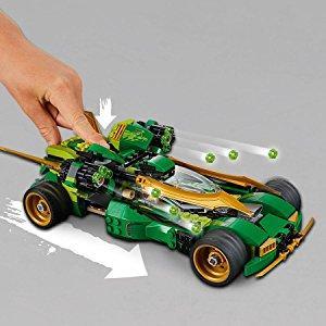 Lego 70641 Ninjago Ninja Nightcrawler Bike And Car With Shooter