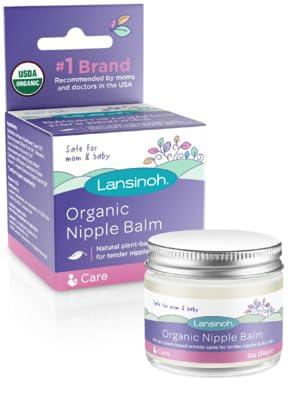 organic nipple balm usda certified 100% organic pain relief breastfeeding all natural chapped argan