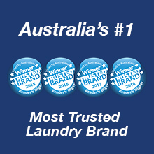 Australia's #1 most trusted brand omo