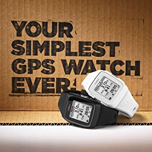 Your Simplest GPS Watch Ever.