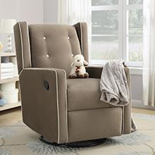 Baby-Relax-Mikayla-Swivel-Gliding-Recliner-Mocha-Microfiber-Upholstery-Nursery-Room