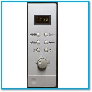 Candy MIC201EX - Microondas integrable con grill y marco, Potencia 800W-1000W, Capacidad 20L, 8 Programas, Gris, 59,5 x 34,3 x 38,2 cm [Clase de ...