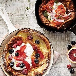 Dutch Baby, breakfast, skillet, savory, sweet, pancake, crepe
