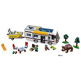 LEGO Creator - Caravana de Vacaciones (31052): Amazon.es: Juguetes ...