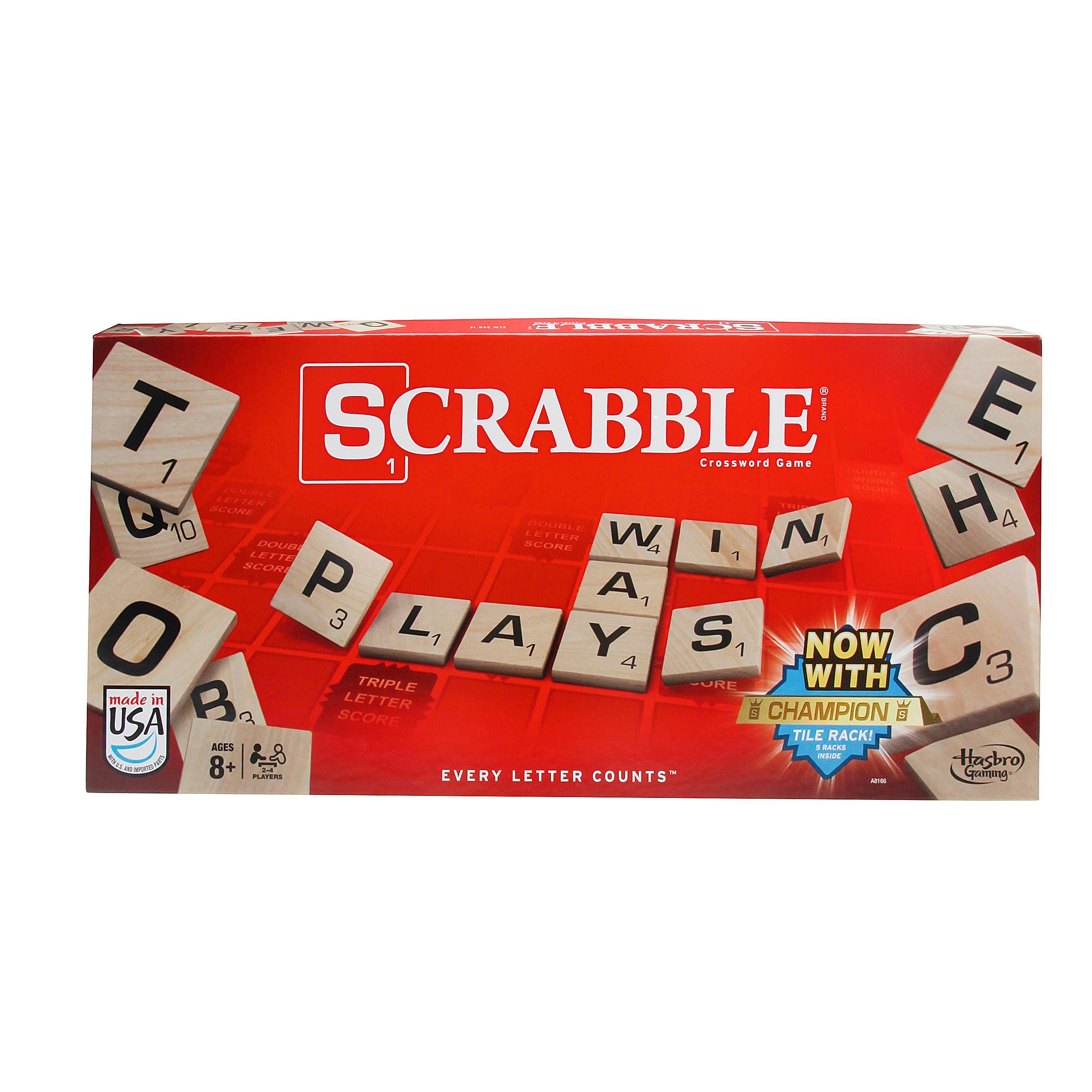 Scrabble Tile Bag Black Velveteen w//Drawstring Standard Edition game