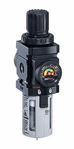 ARO Ingersoll Rand ARO-FLO FRL Filter Regulator, Piggyback