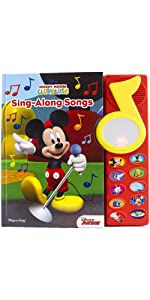 Mickey Mouse Clubhouse - Surprise Mirror Sound Book: Sing-Along Songs