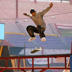 Image of Skater in Tony Hawk doing a flip trick