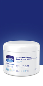 Vaseline Creamy Petroleum Jelly Problem Skin Therapy, protection against cold weather