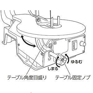 高儀 アースマン 卓上 糸鋸 糸鋸盤 スピードコントロール ノコギリ のこぎり 木工 薄鉄板 アルミ板 真鍮板 プラスチック板 切断 切り抜き 曲線切り