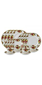 OLD COUNTRY ROSES 20-PIECE SET