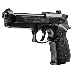 Amazon com : Beretta 92FS, Blue air pistol : Airsoft Pistols