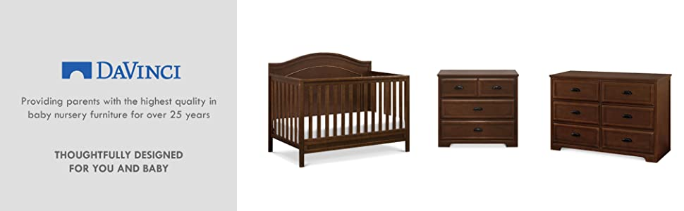 Amazon.com: Davinci Homestead 6 cajón doble aparador: Baby