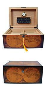 desktop cigar humidor