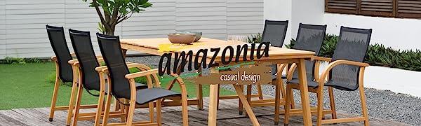 Amazonia brand dining set