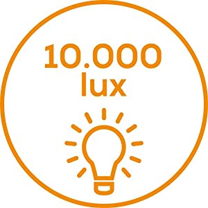 10000 lux