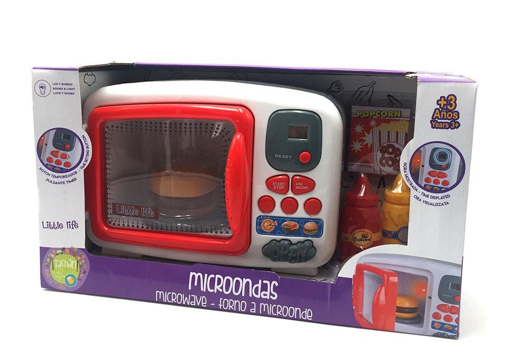 Tachan- Microondas Little Life, Color Rojo (CPA Toy Group 43689 ...