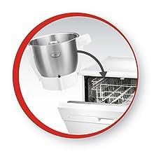 Moulinex Cuisine Companion XL - Robot de cocina, 1550 W, Plata ...