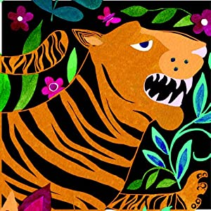 Tiger, Tiger! project from EtchArt: Forgotten Jungle