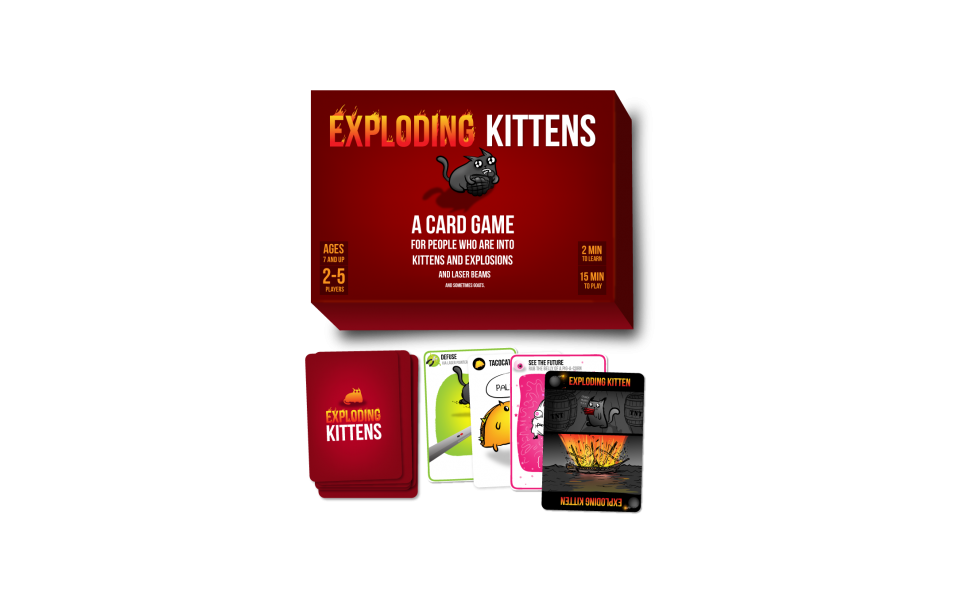 Exploding Kittens Original Edition Amazon Nl